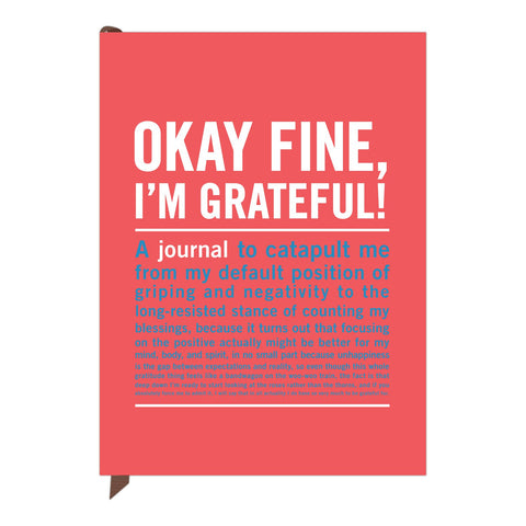 Knock Knock Okay Fine, I'm Grateful! Inner-Truth Journal