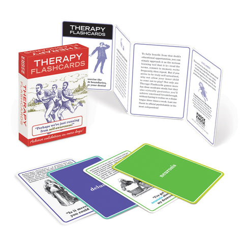 Knock Knock Self-Therapy Flashcards