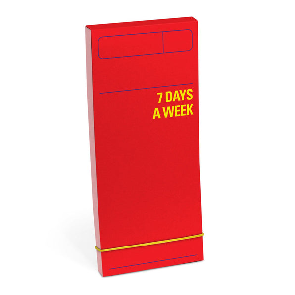 Knock Knock 7 Days a Week Planner (Red)