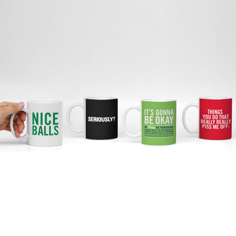 Knock Knock Mugs Limited Edition