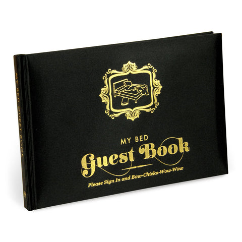 Knock Knock My Bed Guest Book