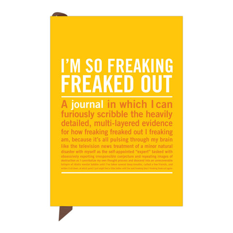 Knock Knock I'm So Freaking Freaked Out Mini Inner-Truth Journal