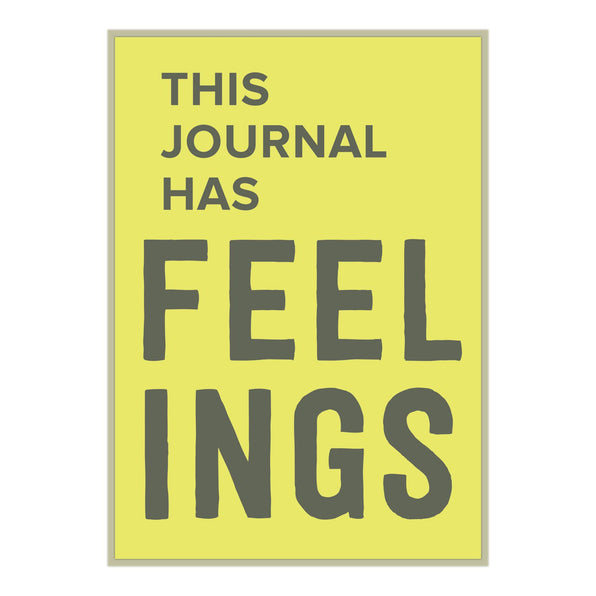 Knock Knock This Journal Has Feelings