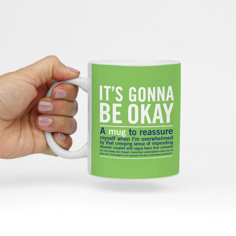 Knock Knock It's Gonna Be Okay Mug