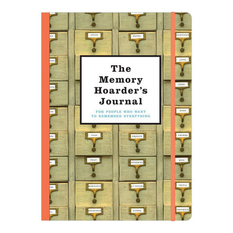 Knock Knock The Memory Hoarders Journal by Creator of @LozFelizDaycare