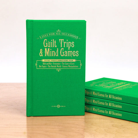 Knock Knock Knock Knock Guilt Trips and Mind Games for All Occasions Book