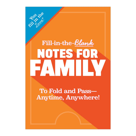 Knock Knock Fill in the Love Notes for Family