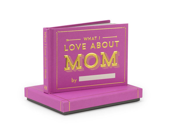 Knock Knock What I Love About Mom Fill in the Love® Journal with Gift Box