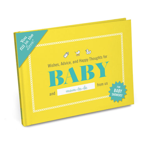 Knock Knock Wishes, Advice, and Happy Thoughts for Baby Fill in the Love® Journal