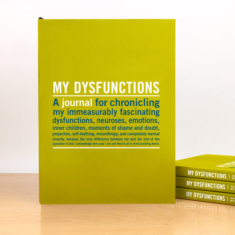 Knock Knock My Dysfunctions Inner-Truth Journal