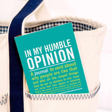 Knock Knock In My Humble Opinion Mini Inner-Truth Journal