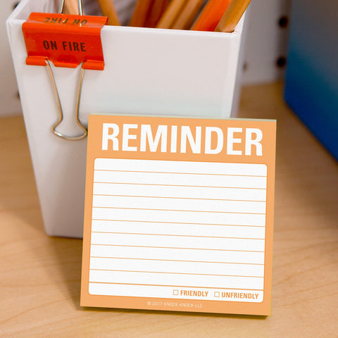 Knock Knock Reminder Sticky Notes