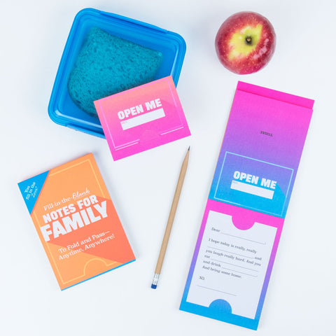 Knock Knock Fill in the Love® Notes for Family
