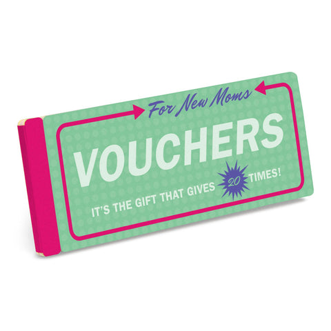 Knock Knock Vouchers for New Moms