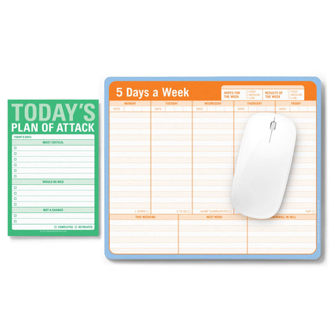 Knock Knock Get it Done Notepad Set