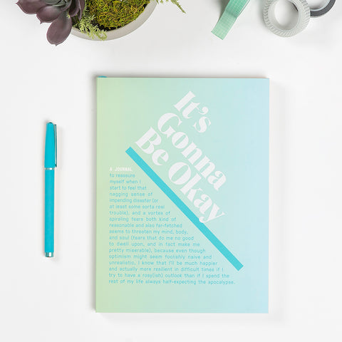 It's Gonna Be Okay Inner-Truth® Journal (Ombre Edition)