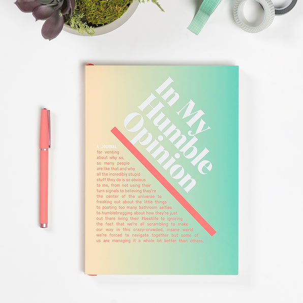 In My Humble Opinion Inner-Truth® Journal (Ombre Version)