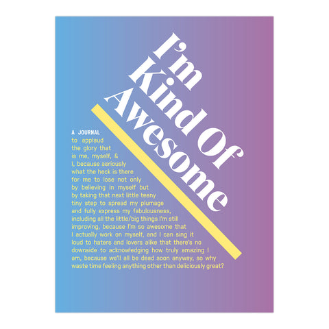 I'm Kind of Awesome Inner-Truth® Journal (Ombre Version)