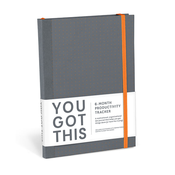 You Got This Productivity Journal (Gray)