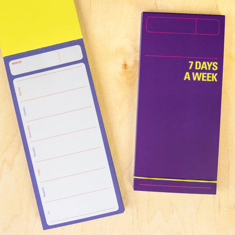 Knock Knock 7 Days a Week Planner Pad