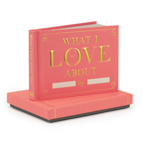 Knock Knock What I Love about You Fill in the Love® Journal with Gift Box