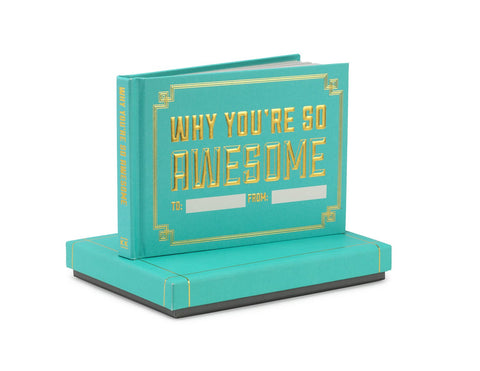 Knock Knock Why You're So Awesome Fill in the Love® Journal with Gift Box
