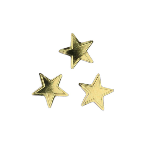 Knock Knock Gold Stars Lick and Stick Foil Stickers