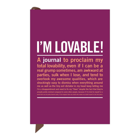 Knock Knock I'm Lovable Mini Inner-Truth Journal