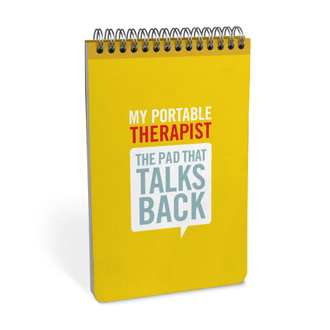 Knock Knock Portable Therapist Personality Pad