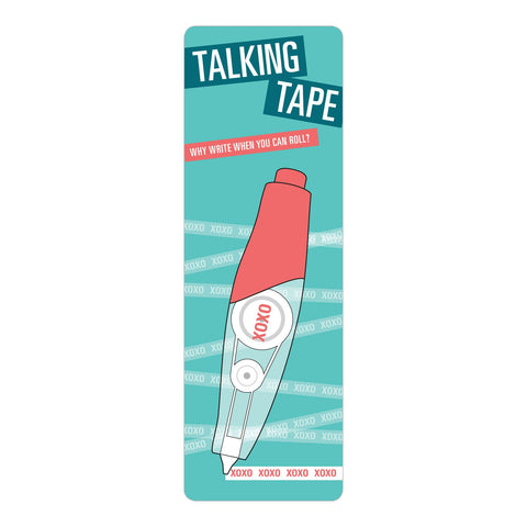 Knock Knock XOXO Talking Tape