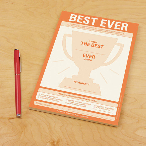 Knock Knock Best Ever Notepad