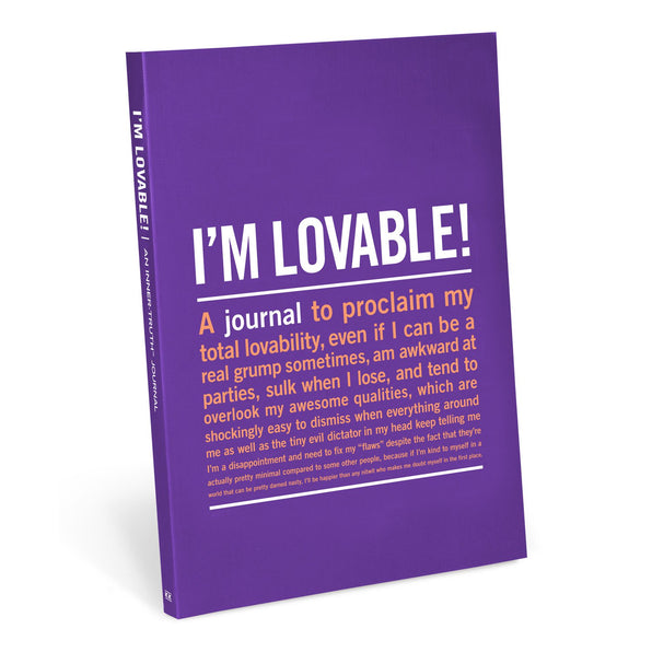 Knock Knock I'm Loveable Inner-Truth Journal