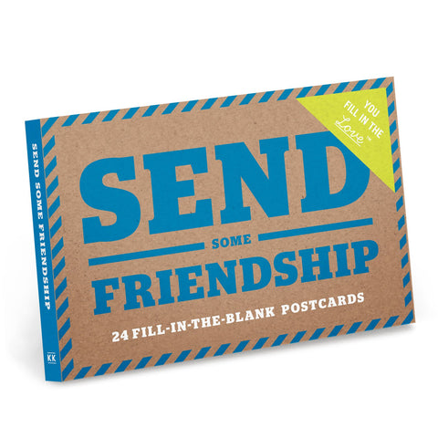 Send Some Friendship Fill in the Love™ Postcard Book