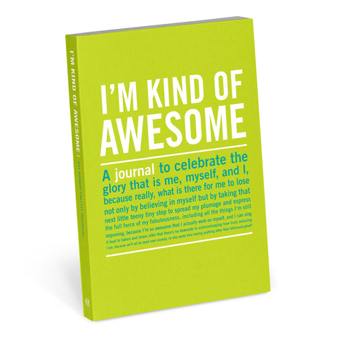 Knock Knock I'm Kind of Awesome Mini Inner-Truth Journal