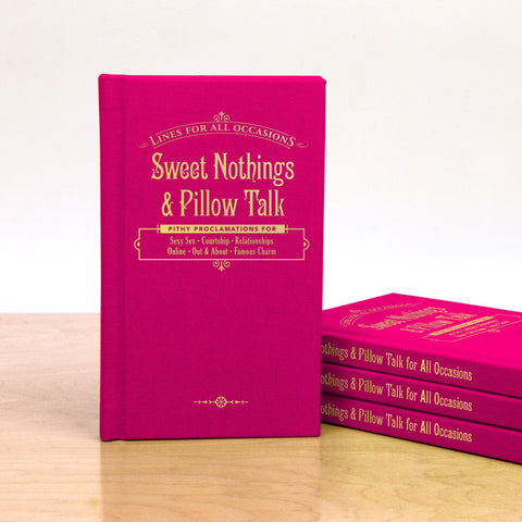 Knock Knock Sweet Nothings and Pillow Talk for All Occasions Book