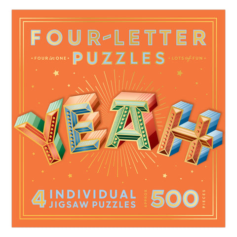 Knock Knock Yeah Four-Letter Puzzle