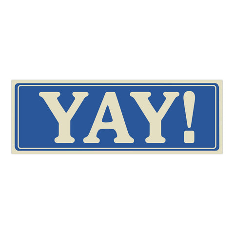 12561_Yay_Sticker_02_Flat