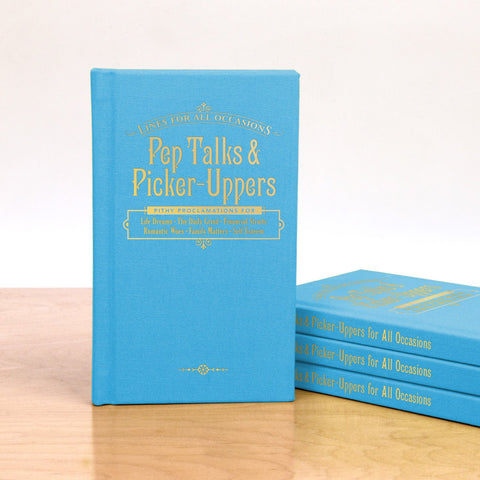 Knock Knock Pep Talks and Picker-Uppers for All Occasions Book