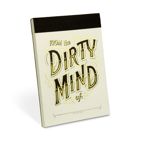 Knock Knock Dirty Mind Alter Ego Pad