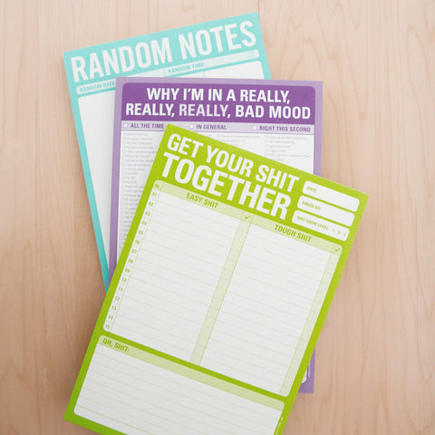 Knock Knock Notepads