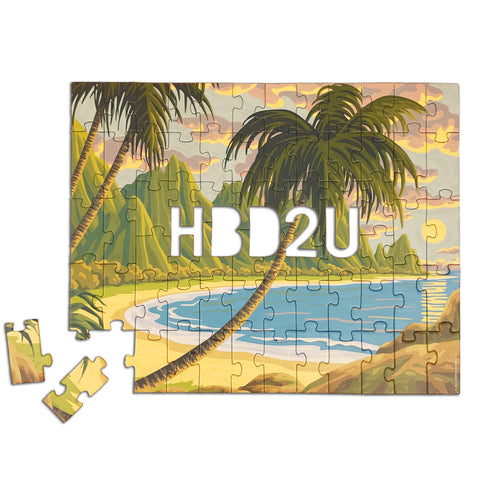 Knock Knock HBD2U (Happy Birthday to You) Message Puzzle