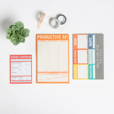 Tell It Like It Is Sticky Notes Set / Packet