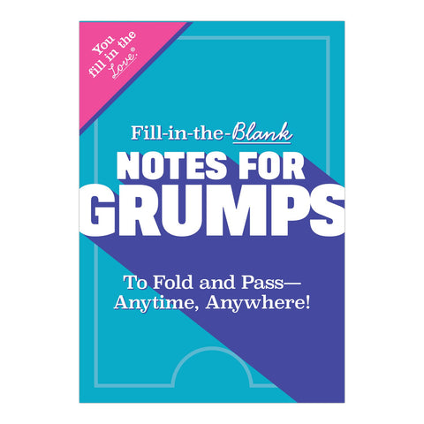 Knock Knock Fill in the Love Notes for Grumps