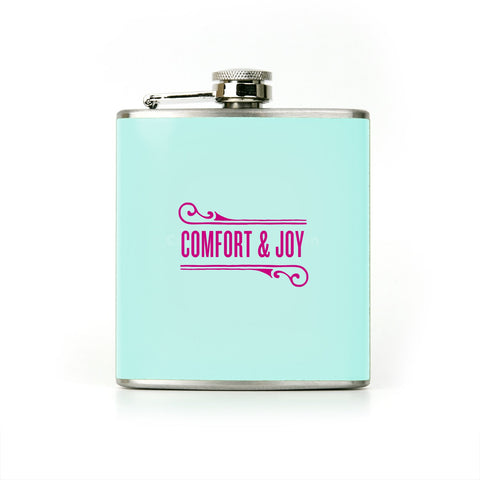 Knock Knock Comfort and Joy Flask
