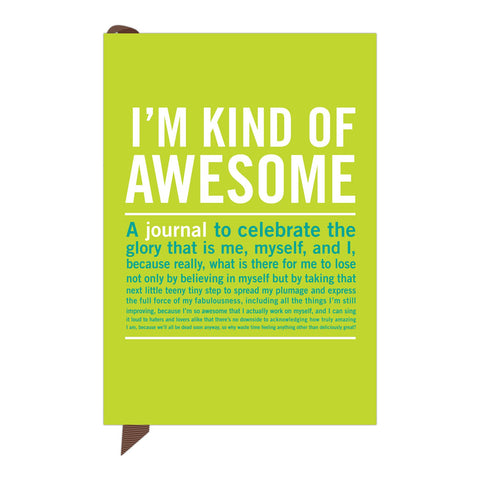 Knock Knock I'm Kind of Awesome Mini Journal | Free Ship $35+