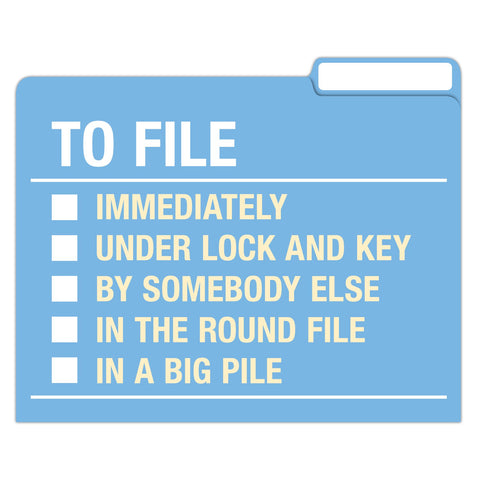 Knock Knock To Do / Ponder / File File Folders