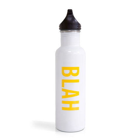 Knock Knock Blah Water Bottle
