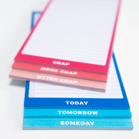 Knock Knock Someday 3-Way Pad