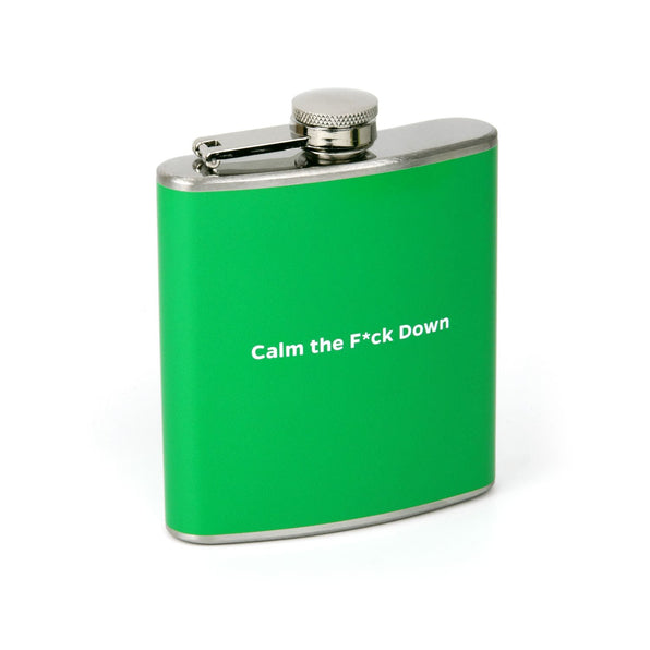 Knock Knock Calm the F*ck Down Flask
