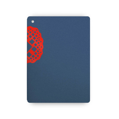 Plumb Notebooks Red on Blue Wraparound Notebook